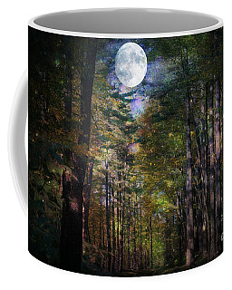 Magical Moonlit Forest Coffee Mug