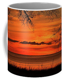 Magical Orange Sunset Sky Coffee Mug