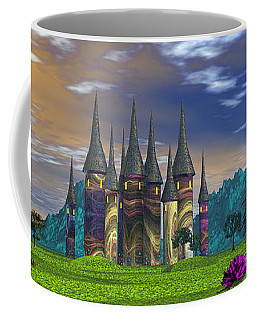 Coffee Mug featuring the photograph Magical Palace by Mark Blauhoefer