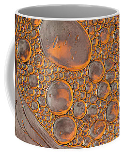 Magma Fusion Abstract Coffee Mug by Bruce Pritchett