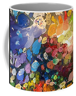 Magnetic Paint Palette Coffee Mug by Tanielle Childers
