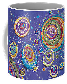 Magnetic Coffee Mug by Tanielle Childers