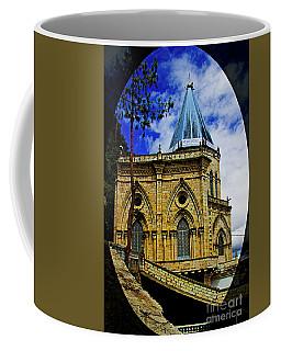 Coffee Mug featuring the photograph Magnificent Church Of Biblian by Al Bourassa