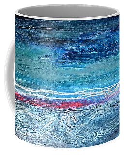 Magnificent Morning Abstract Seascape Coffee Mug
