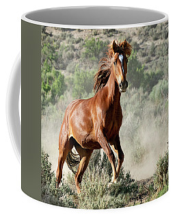 Magnificent Mustang Wildness Coffee Mug