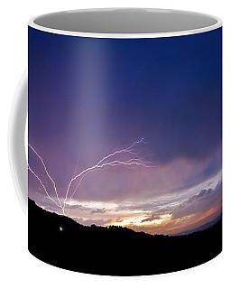 Magnificent Sunset Lightning Coffee Mug