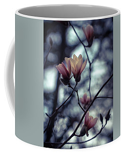Magnolia Blossom Coffee Mug by Lilia D