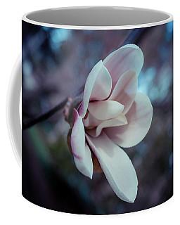 Magnolia Flower Coffee Mug by Lilia D