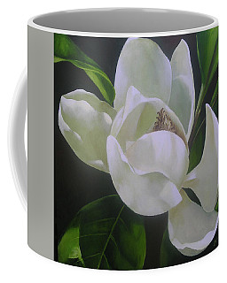 Magnolia Light Coffee Mug by Chris Hobel