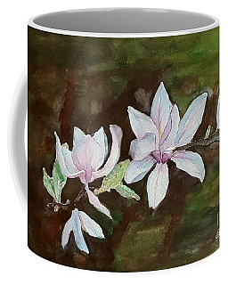 Magnolia - Painting  Coffee Mug