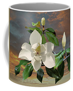 Magnolia Sunset Coffee Mug