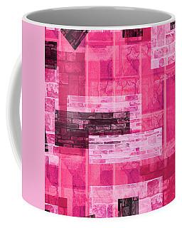 Coffee Mug featuring the mixed media Maha Shreem 3 by Sir Josef - Social Critic - ART