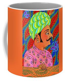 Maharaja With Butterflies Coffee Mug