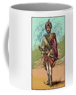 Maharajah Daleep Singh Portrait  Coffee Mug
