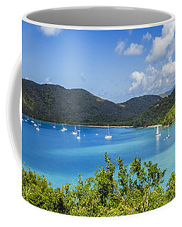 Coffee Mug featuring the photograph Maho And Francis Bays On St. John, Usvi by Adam Romanowicz
