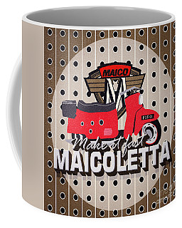Maicoletta Scooter Advertising Coffee Mug