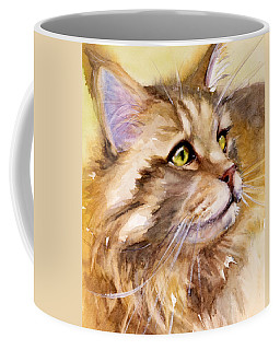 Main Coon Coffee Mug by Judith Levins