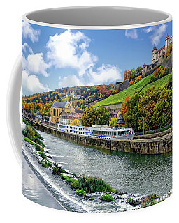 Main River Panorama Coffee Mug
