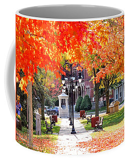 Main Street In The Fall Coffee Mug