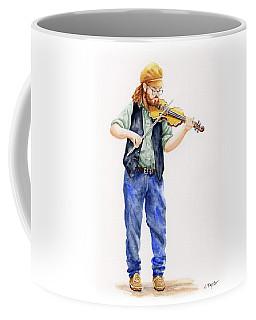 Main Street Minstrel 1 Coffee Mug