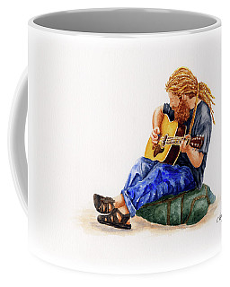 Main Street Minstrel 2 Coffee Mug