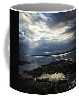 Coffee Mug featuring the photograph Maine Drama by LeeAnn Kendall