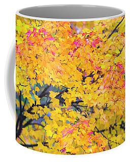 Maine Fall Foliage In Autumn Coffee Mug by Ranjay Mitra