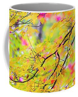 Maine Fall Foliage Panorama Coffee Mug