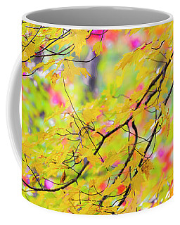 Maine Fall Foliage Panorama Coffee Mug