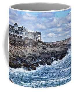 Maine Il Coffee Mug by Tricia Marchlik