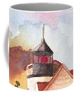 Maine Lighthouse In Morning Light Coffee Mug