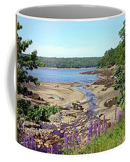 Maine Lupines Coffee Mug