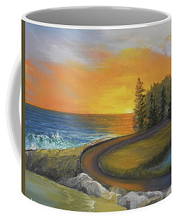 Maine Ocean Sunrise Coffee Mug