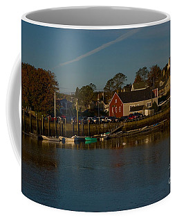 Maine- Seaports In Fall Coffee Mug