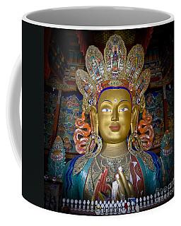 Maitreya Buddha Coffee Mug by Hitendra SINKAR