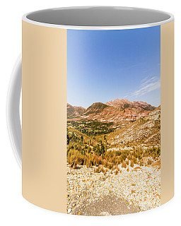Majestic Arid Peaks Coffee Mug