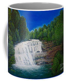 Majestic Bald River Falls Of Appalachia II Coffee Mug by Kimberlee Baxter