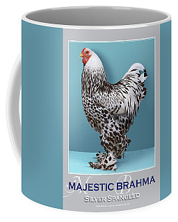 Majestic Brahma Silver Spangled Coffee Mug