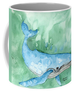 Coffee Mug featuring the painting Majestic Creature by Darice Machel McGuire