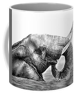 Majestic Elephant Coffee Mug by Heidi Kriel