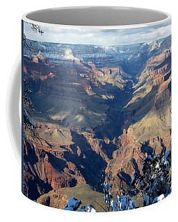 Coffee Mug featuring the photograph Majestic Grand Canyon by Laurel Powell