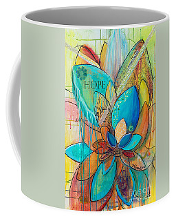 Spirit Lotus With Hope Coffee Mug