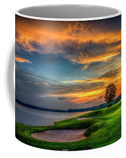 Coffee Mug featuring the photograph Majestic Number 4 The Landing Reynolds Plantation Art by Reid Callaway
