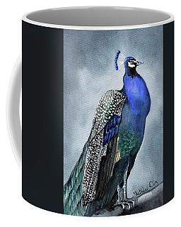 Majestic Peacock Coffee Mug