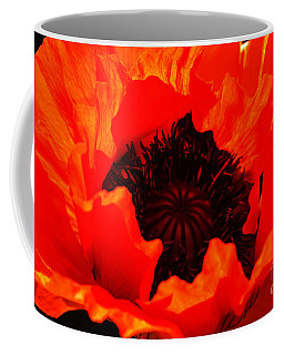 Majestic Poppy Coffee Mug by Stephen Melia