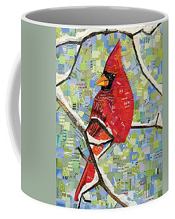 Majestic Red Cardinal  Coffee Mug