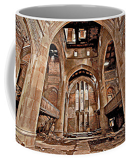 Coffee Mug featuring the photograph Majestic Ruins by Suzanne Stout