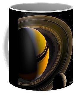 Majestic Saturn Coffee Mug
