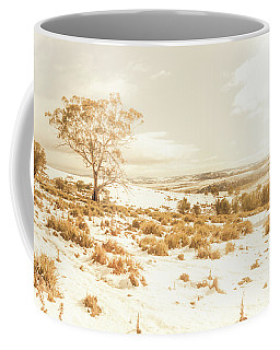 Majestic Scenes From Snowy Tasmania Coffee Mug
