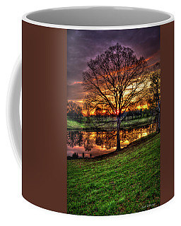 Majestic Sunrise Reflections Art Coffee Mug